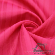 Wasser & Wind-resistent Mode Jacke Daunenjacke gewebt Plaid Jacquard 100% Polyester Kationische Garn Filament Stoff (X017)