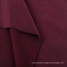 double sided brushed polyester spandex sports jersey fabric