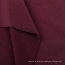 tejido de jersey deportivo de spandex de poliéster cepillado de doble cara