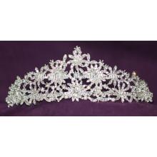 Belleza Tiara De Boda De Alta Calidad De Calidad Brillante Crystal Bridal Crown