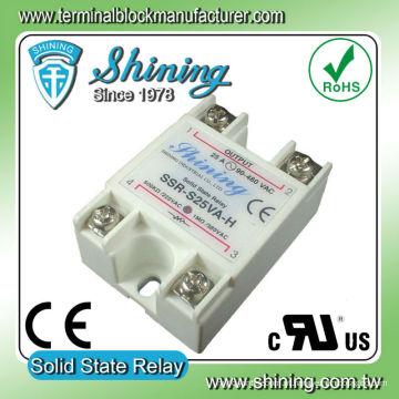 SSR-S25VA-H VR para AC 25A Relé de regulador de tensão de estado sólido