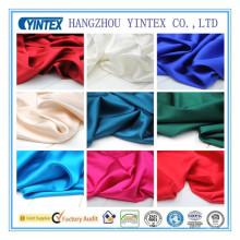 Tout tissu de soie de couleur pour les textiles