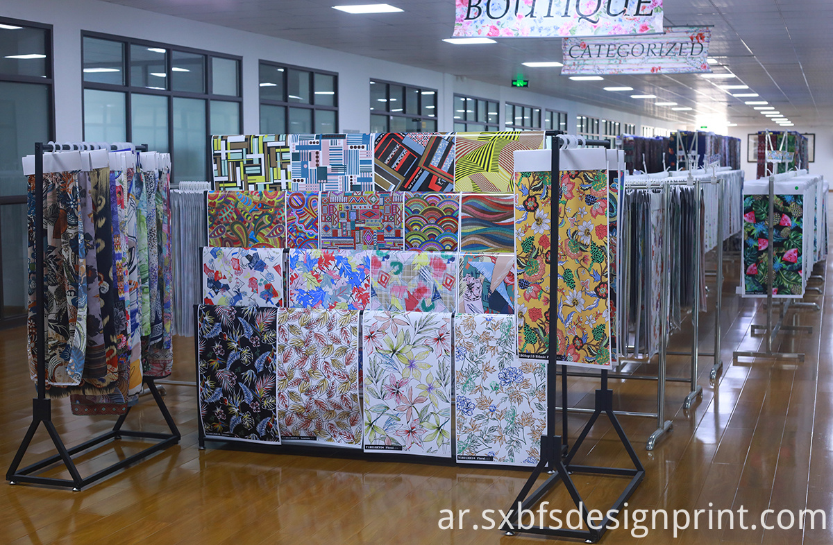 New Fashion Printing Fabric Designs