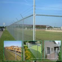 Clôtures galvanisées pour la protection de la ferme