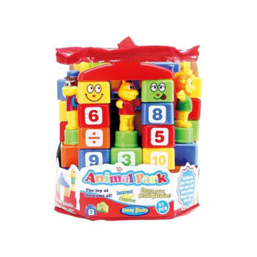 Plastic Toy Animal Building Block Toy (H8219048)