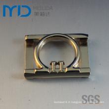 Boucle de ceinture à la mode Boucle de métal personnalisée