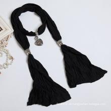 Die neue Frau reine Baumwoll-Polyester-Faser Farbe Schal Schal