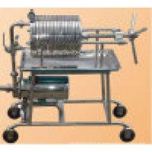 Máquina de aço inoxidável da filtragem do óleo da imprensa da placa do produto comestível (BAS100)