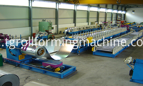 Assembled Culvert Pipe Corrugated Panel Machine
