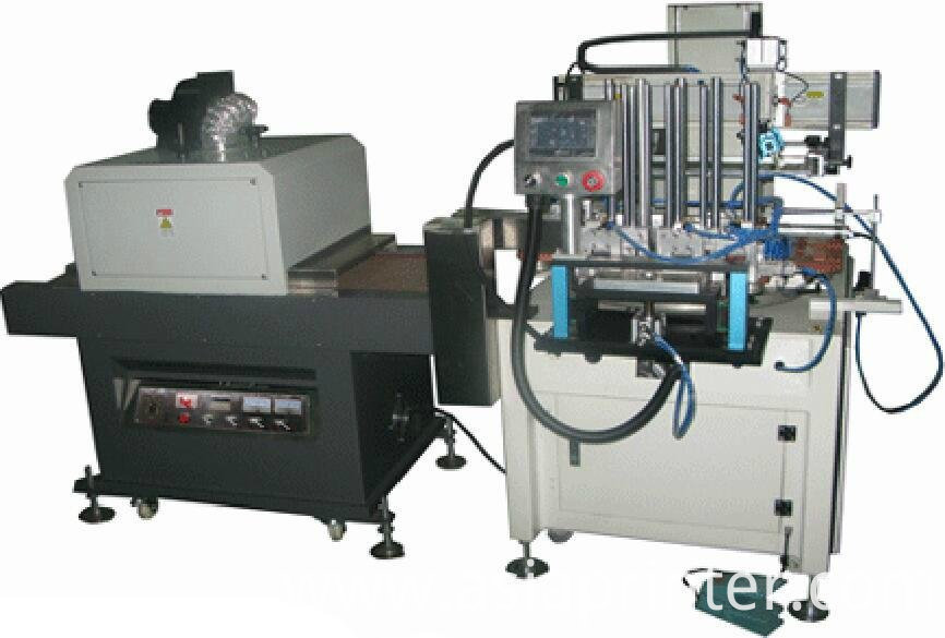 automatic flatbed stationary UV Screen Printer