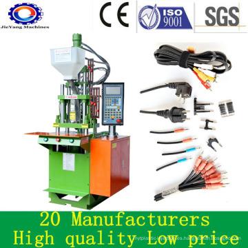 Inserciones de plástico Máquina de moldeo por inyección vertical para cable de PVC