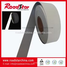 Alta plata reflectante cuero artificial PU
