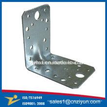 Пользовательские оцинкованные стальные металлы Усиленные угловые кронштейны