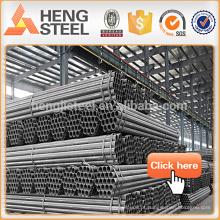 Tubulação de aço / tubulação de aço preta / tubulação de aço galvanizada / tubulação de aço quadrada / tubulação de aço rectagular