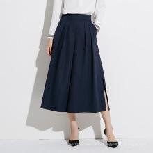 Женские свободные длинные официальные офисные юбки трапеции