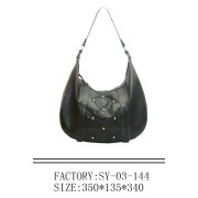 Synthtic Leather Ladies Tote Bag (23406)