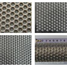 Treillis métallique fritté perforé pour le treillis métallique d'écran de filtre