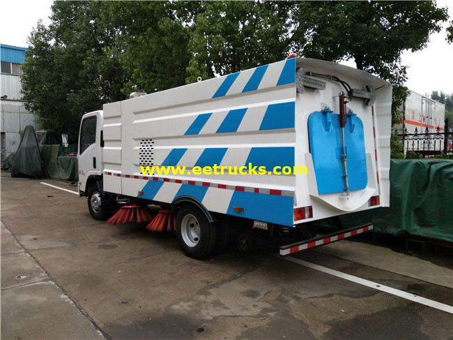 6cbm Gallon Road Cleaning Trucks