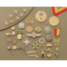 Medallas y medallas en 3D
