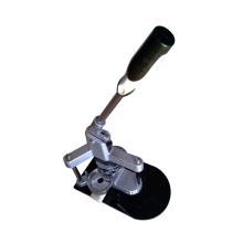 Mirror and badge heat press machine