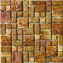 Nobel Design of Ceramic Mosaic Tile with Cheap Price (AJLST-313)