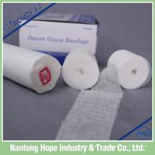 pansement pansement fournitures de bandage de gaze de coton stérile médical