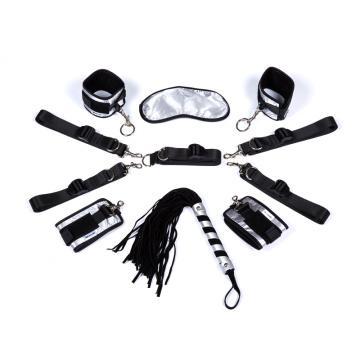 Almohadillas para cama Strapon Erotic Toys Bdsm Bondage Mano Ankel Cuffs Sex Games