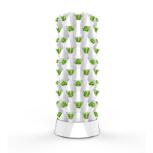 Vertical Tower Growing Systems column hydroponic