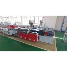 PVC window and door profile making machine