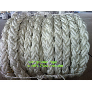 104mm 150M polyester rope 8 strands
