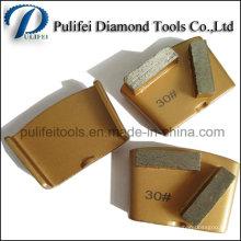 Outils de meulage de diamant pour le tampon de polissage de plancher en pierre concrète