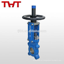 Válvula de servicio de válvula de compuerta de sellado suave