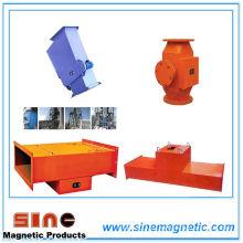 Separador de hierro magnético permanente