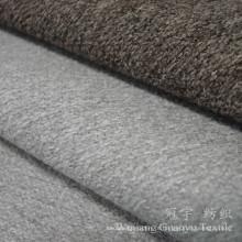 Poliéster e nylon da tela do toque de lãs da caxemira para a decoração