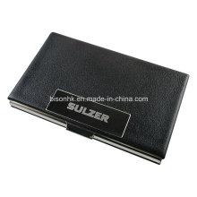 Titular de cartão de visita de metal de luxo, titular do cartão de visita para o presente