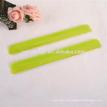 Individuelle PVC Werbe reflektierende Armbinde