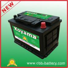 Koyama AGM-Ssl3-48-12V66ah AGM Start-Stop Batterie