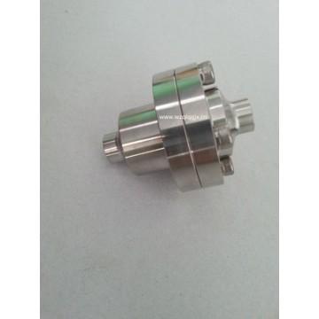 Válvula de retenção sanitária anti-retorno de aço inoxidável forjado com flange