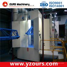 Linha de produção automática de revestimento em pó para produtos de aço