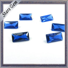 Waxing Setting Rectangle Princess Cut 34# Sapphire