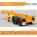 2-axle skeleton semi-trailer with Michelin tire