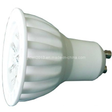 LED de alta potência LED de cerâmica GU10 3X1w Bulb Spot Down Light