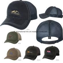 100% Cotton Mesh Back Caps für draußen