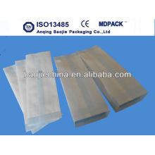 Autoklaven für medizinisches Papier / Beutel mit Seitenfalten