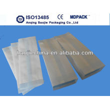 autoclave medical grade paper/gusseted bags