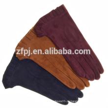 2016 Mädchen Mode Kleid Schaf Wildleder Leder Handschuhe Gesicht in Hebei