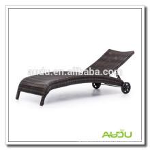Audu Aluminium Outdoor Rattan Bali Lounger