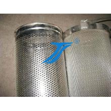 Malla de alambre tejida de metal de acero inoxidable 304