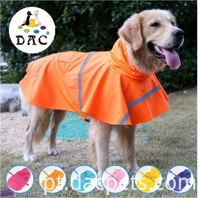 pet color raincoat