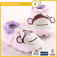 Cartoon animal shoes best quality 2015 cheap fashion dress baby shoes